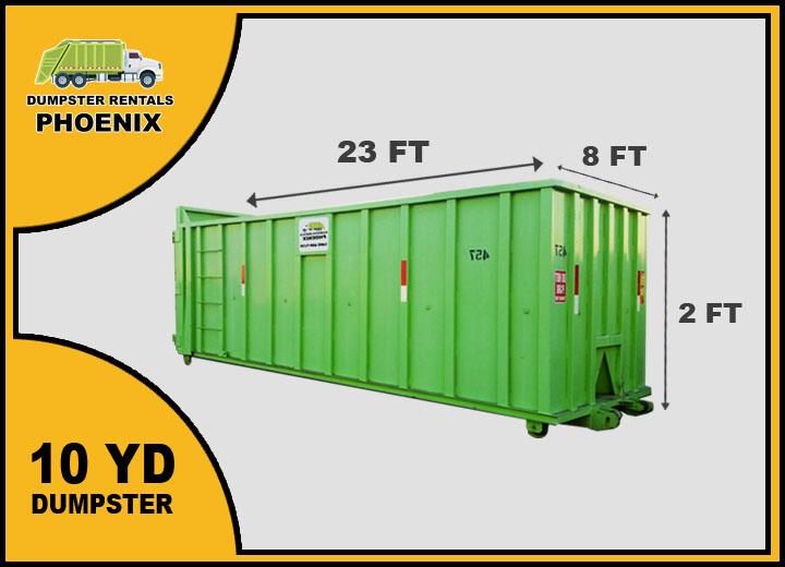 10 Yard Dumpster Rentals